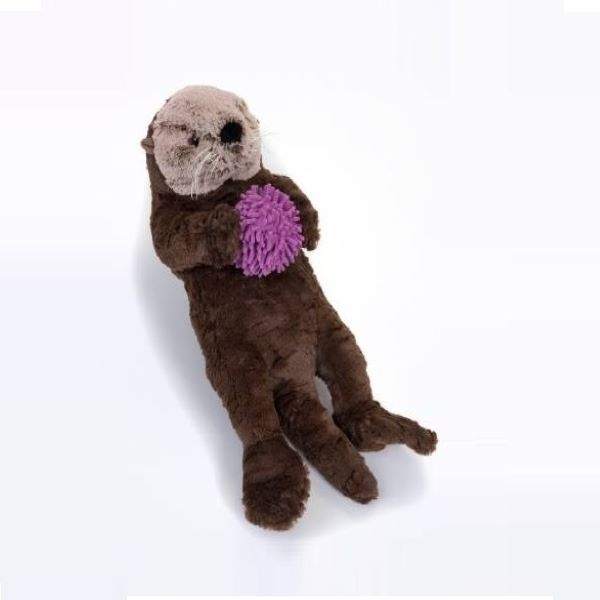 SEA OTTER WITH URCHIN SIGNATURE PLUSH 9""