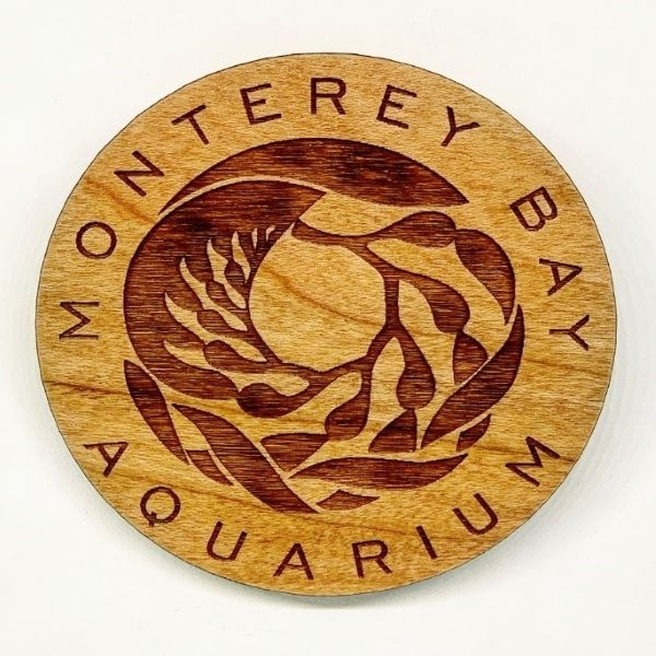 WOOD MAGNET LOGO