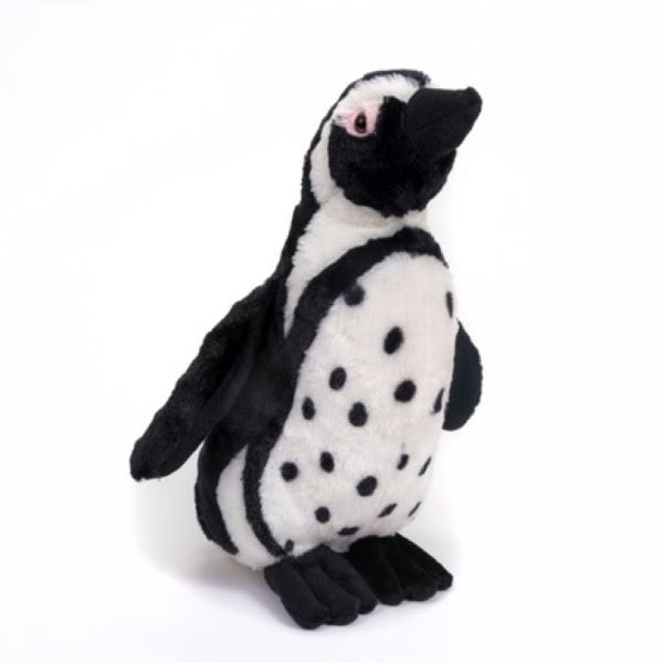 PENGUIN BLACK FOOTED PLUSH 12""