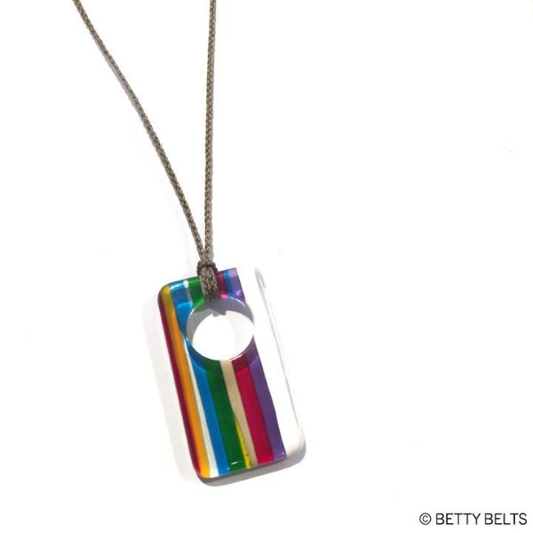 NECKLACE SURFITE DOGTAG WITH CORD