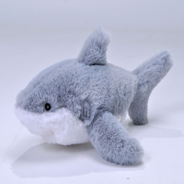 GREAT WHITE SHARK PLUSH ECOKIN MINI 8""