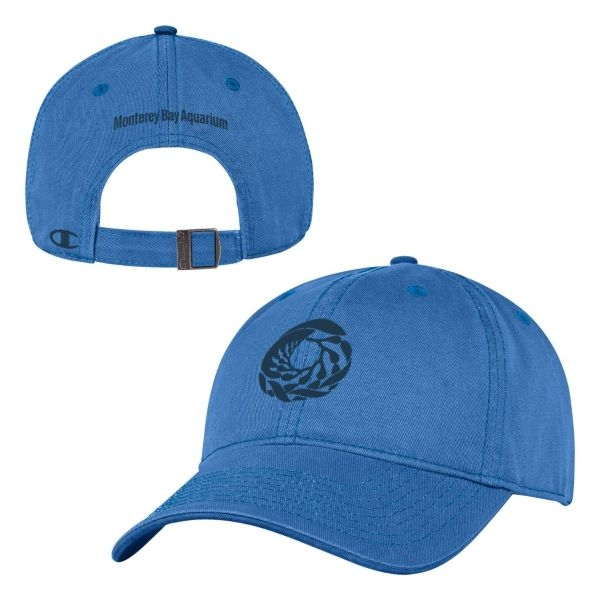 CHAMPION ADULT BASEBALL HAT BLUE