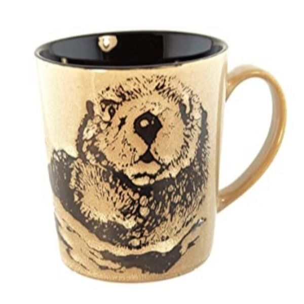 MUG SEA OTTER BROWN