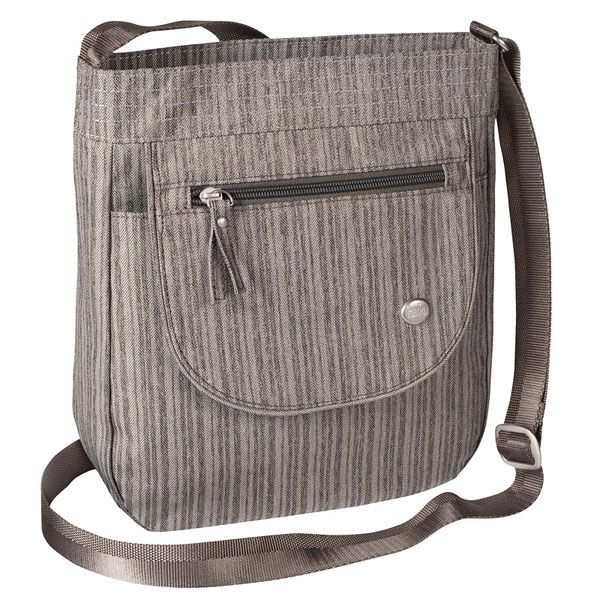 CROSSBODY BAG GRAY POPLAR