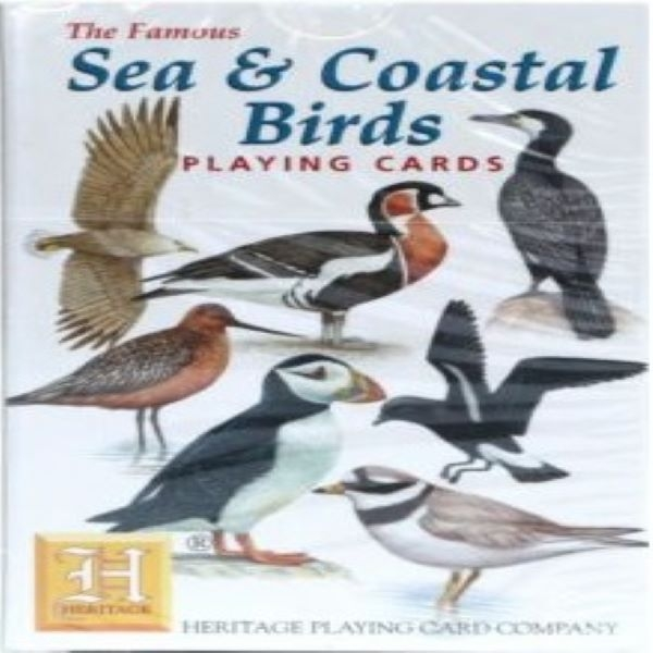 PLAYING CARDS SEA/COAST BIRD