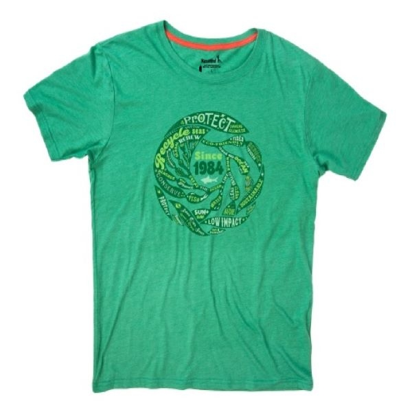 ADULT SHORT SLEEVE TEE KELP GREEN