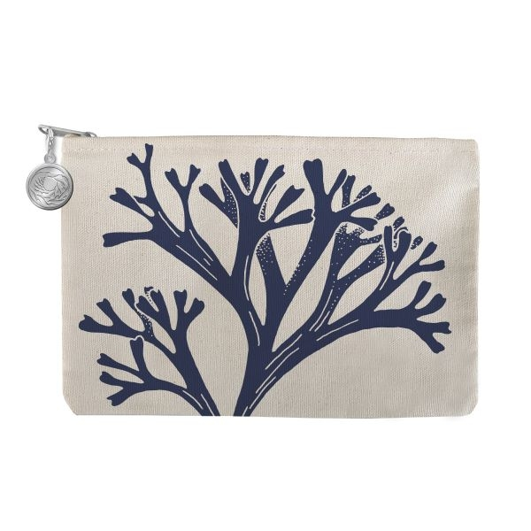 CANVAS ZIPPERED POUCH