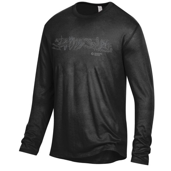 ADULT LONG SLEEVE TEE BLACK