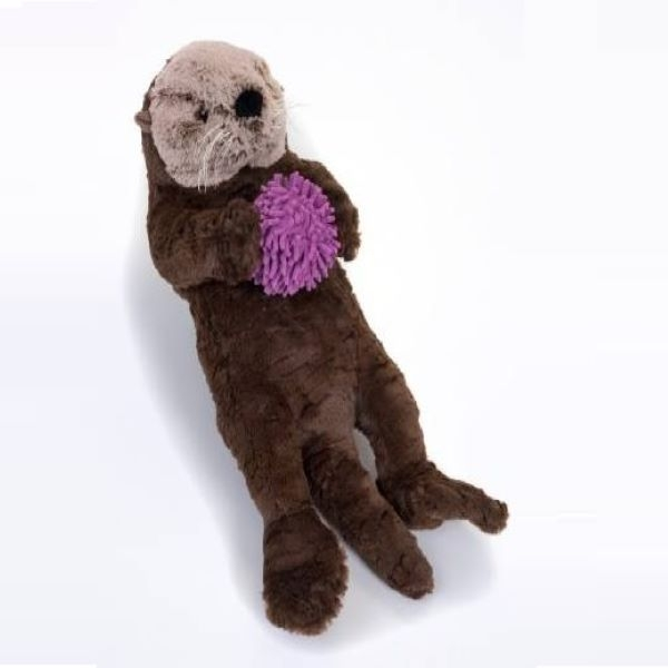 SEA OTTER WITH  URCHIN SIGNATURE PLUSH 24""