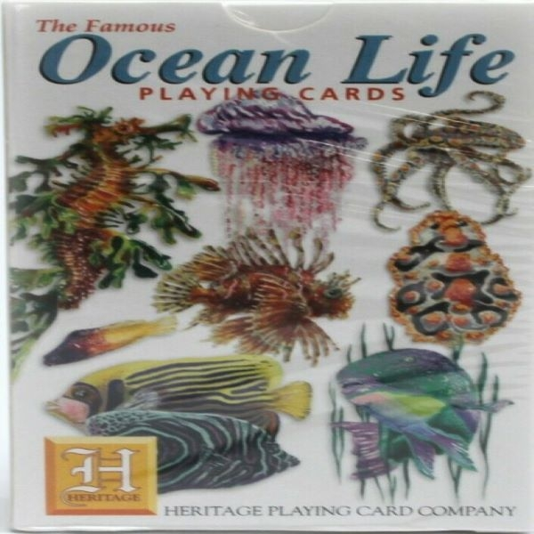 PLAYING CARDS OCEAN LIFE