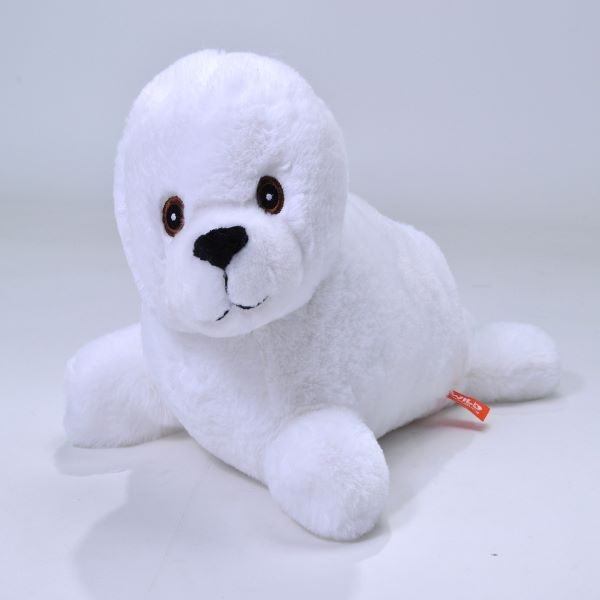 HARP SEAL PLUSH ECOKIN 12""